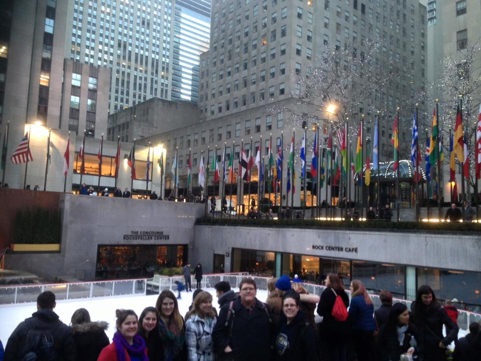 TTU Clarinet Studio at the Rockefeller Center