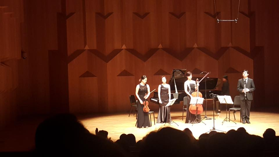 Playing Messiaen's Quartet for the End of Time with Mirus Trio at IBK Hall's Sold-Out Recital