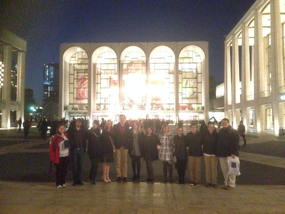 TTU Clarinet Studio at Lincoln Center
