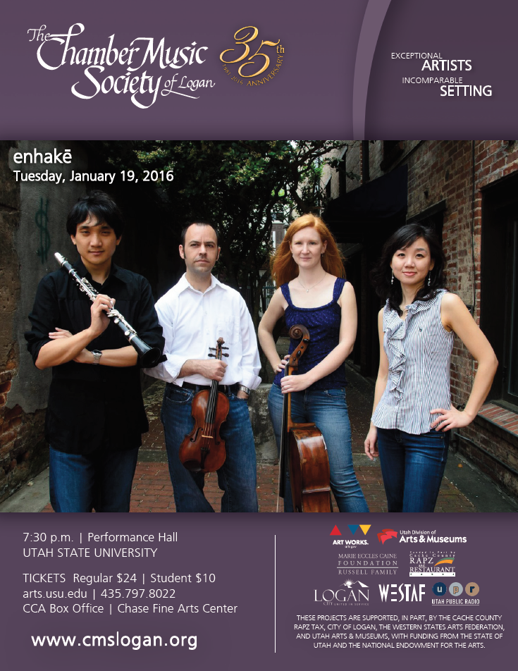 enhake at Chamber Music Society of Logan