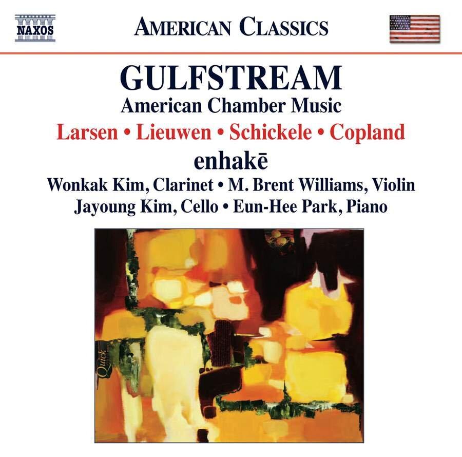 Gulfstream: Larsen - Lieuwen - Schickele - Copland [Naxos 8.559692]