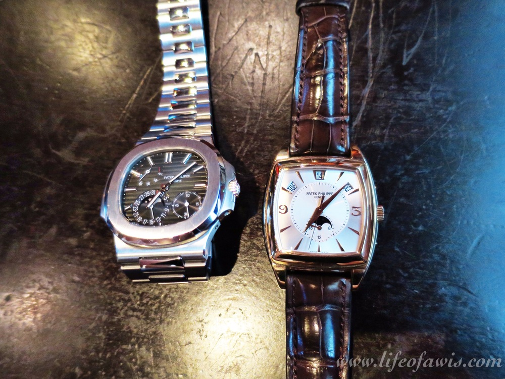 Pair of Patek Philippes.
