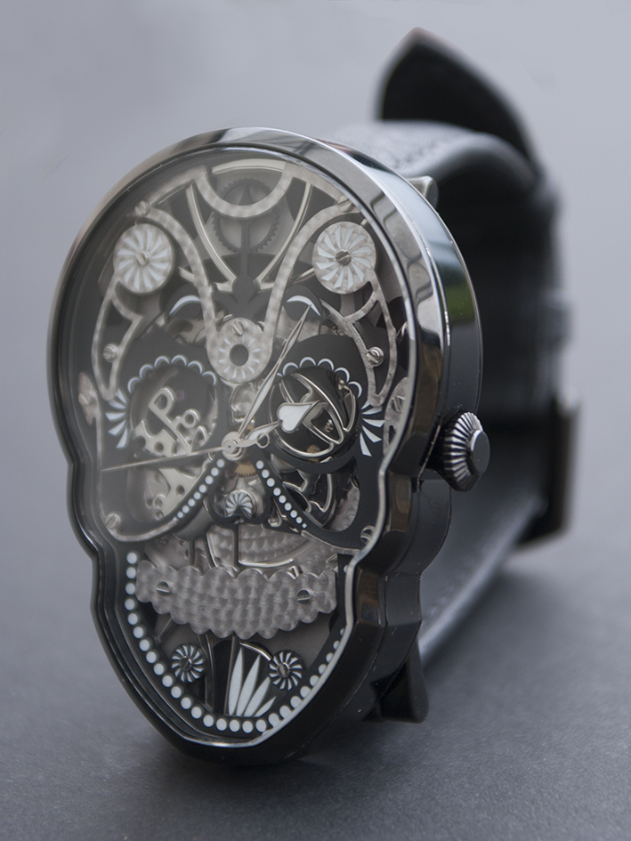 "Expect to see more intricate ""skull"" watches from Fiona Krüger in the next few years."
