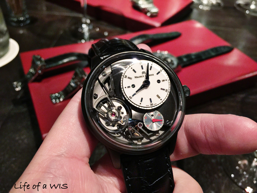 Maurice Lacroix Masterpiece Gravity in PVD.