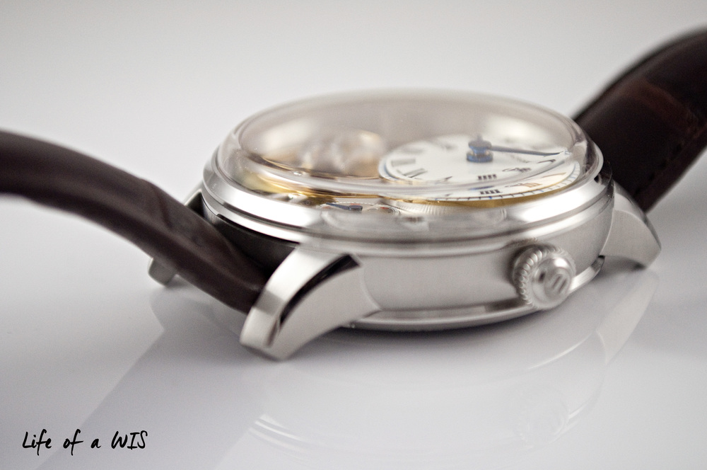 One of my favorite features on the watch, the domed sapphire crystal.