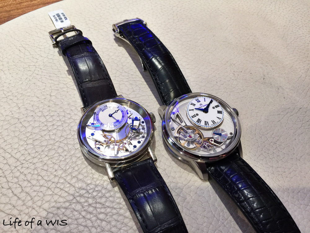 Breguet Tradition vs Maurice Lacroix Masterpiece Gravity
