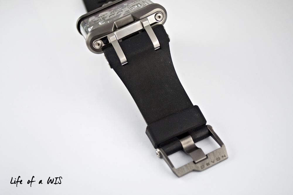 Big strap for a big watch.
