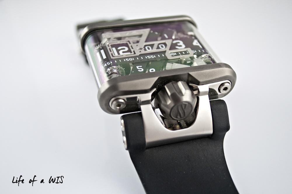Unique lugs for a unique watch.
