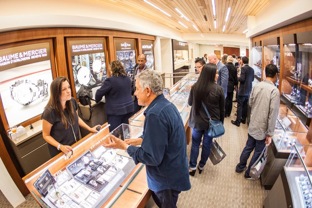 Feldmar Watch Company'sshowroom is over 10,000 square feet.