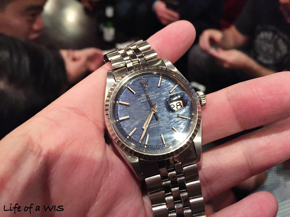 A DateJust you do not see often.