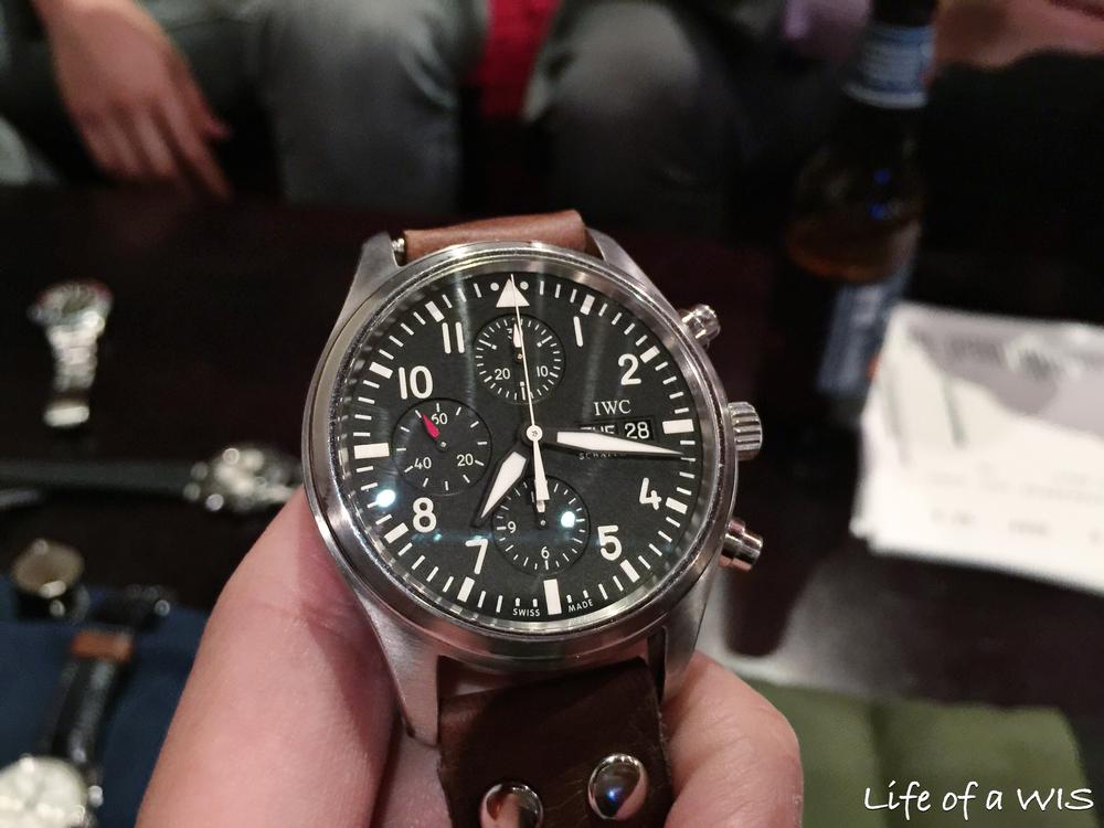 IWC Pilot Chronograph (ref. 3717)... a true classic!