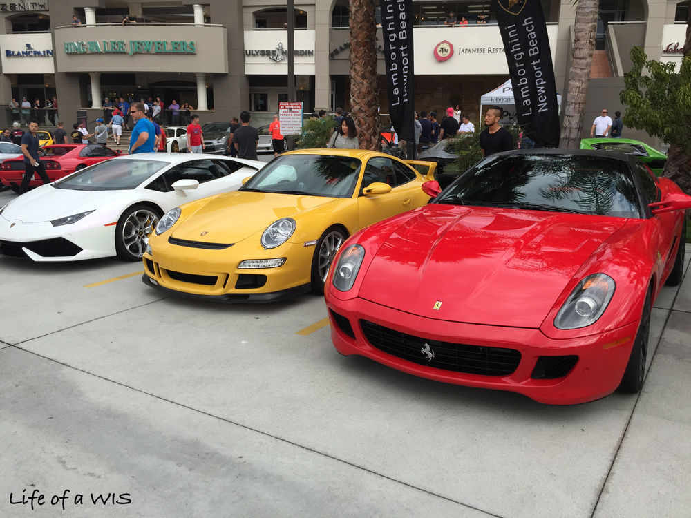 Lamborghini, Porsche, Ferrari