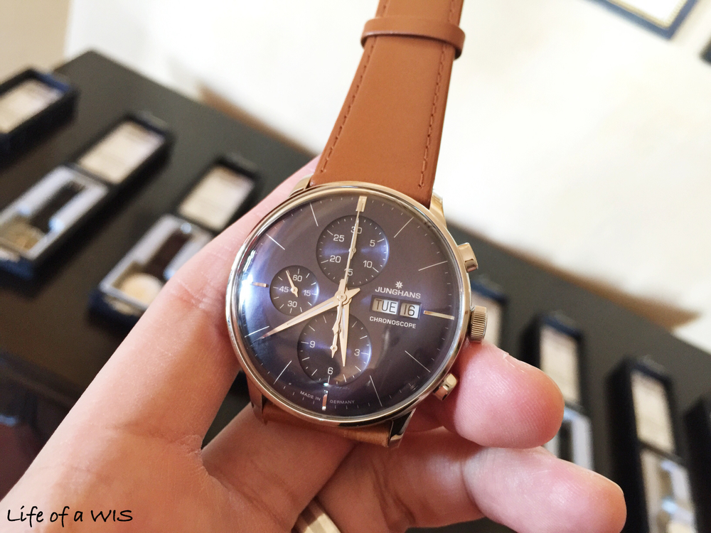 Junghans Chronoscope, $1,860.