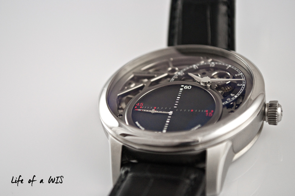 The mysterious seconds complication is unlike anything else in the market.