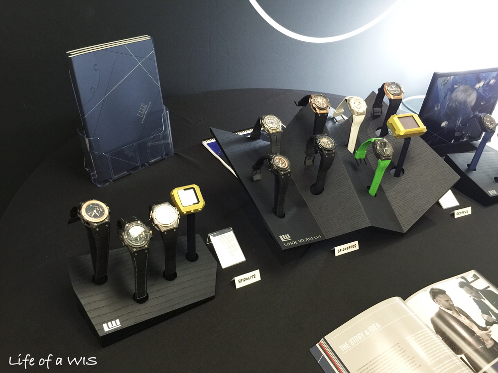 Linde Werdelin had most of their current collection available for us to play!