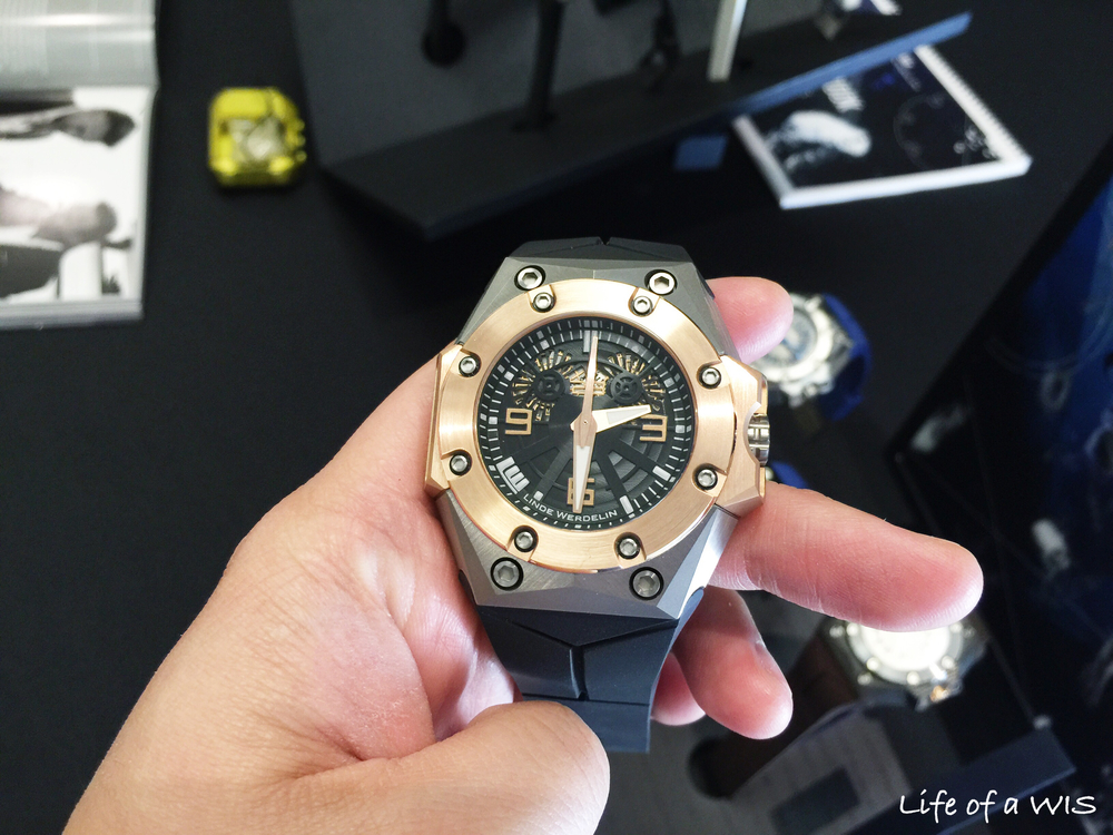 Oktopus Double Date Rose Gold