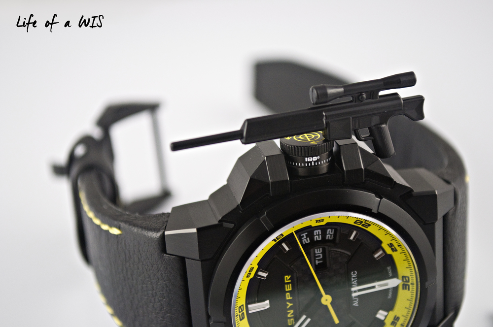 A watch inspired by the sniper rifle.