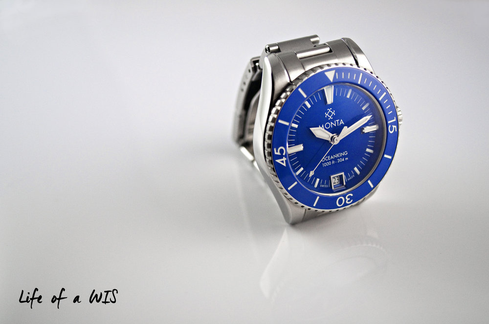 The few polished surfaces give the Oceanking just the right amount of bling.