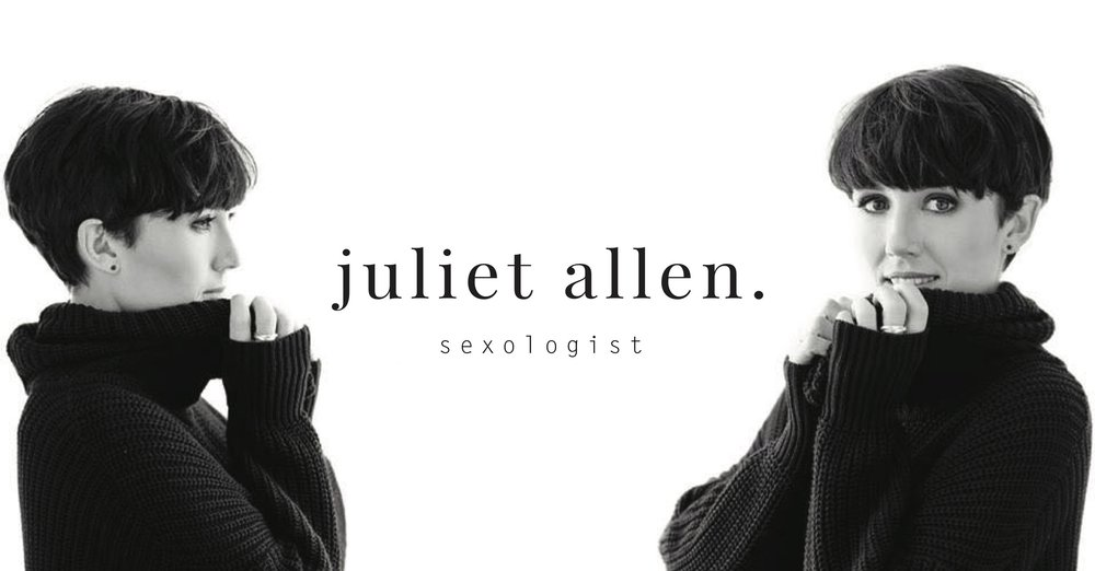 Juliet Allen | Sexologist, Sex Therapy & Education