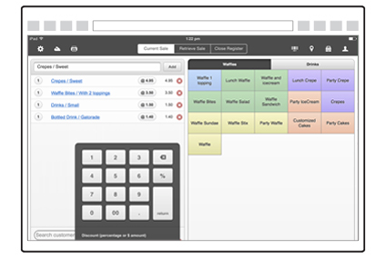 If you have a POS system already we may integrate with yours, streamlining the service even more by providing docket printing and reconciliation. We integrate with Wizbang, Vend and Task Retail. If you do not yet have a POS that we integrate with, or simply have a cash register, we have designed a streamlined POS system to receive orders that can be easily accessed from any Chrome internet browser.