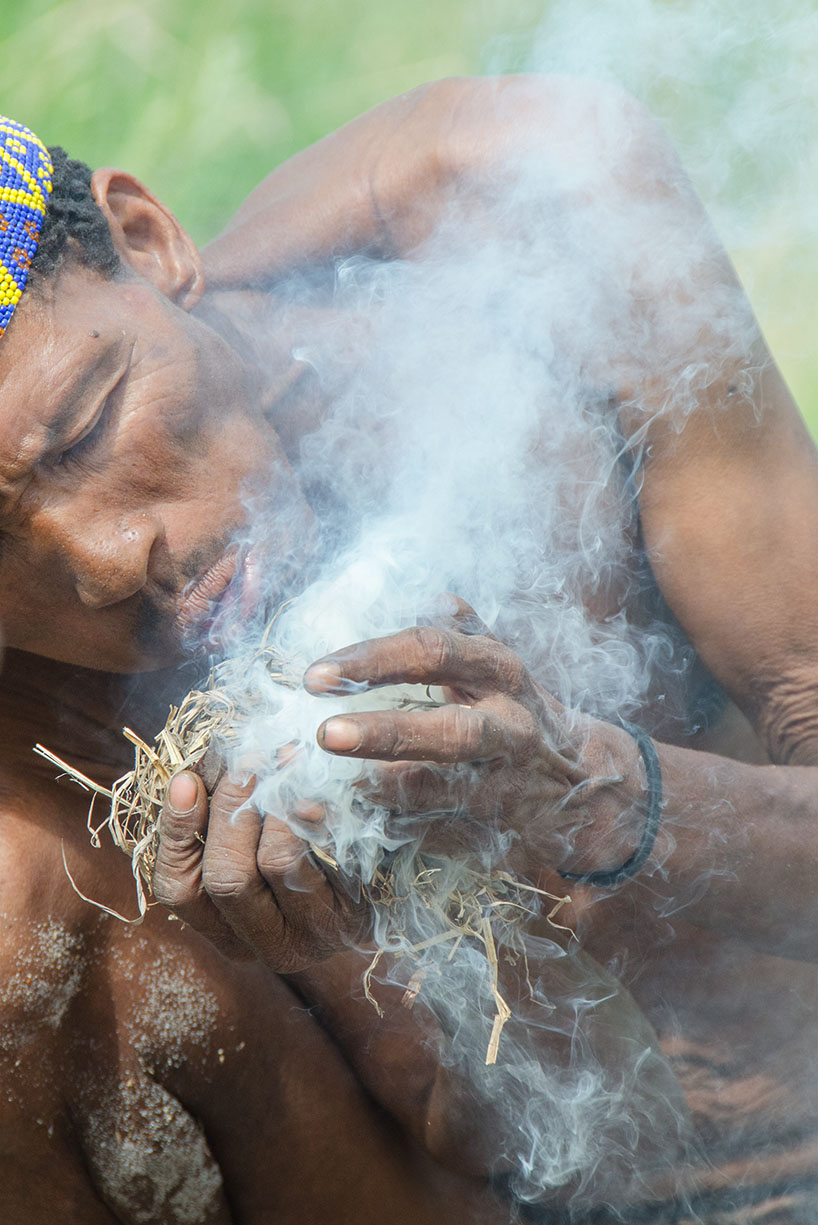 Kalahari Bushmen: Making Fire