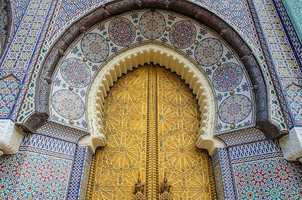Royal Palace Gate, Fès (Fez)