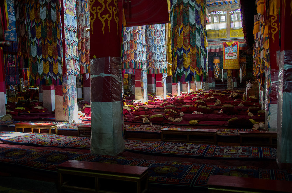 Assembly Hall, the Drepung Monastery