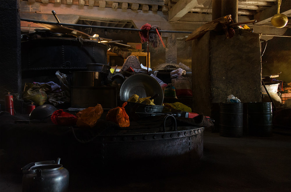 Kitchen, the Drepung Monastery