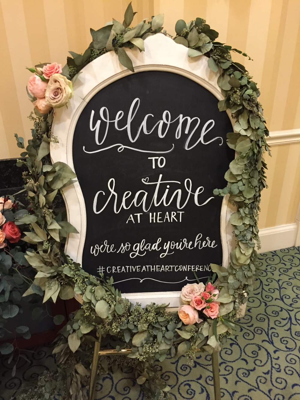 Garland and florals by Intrigue Designs
