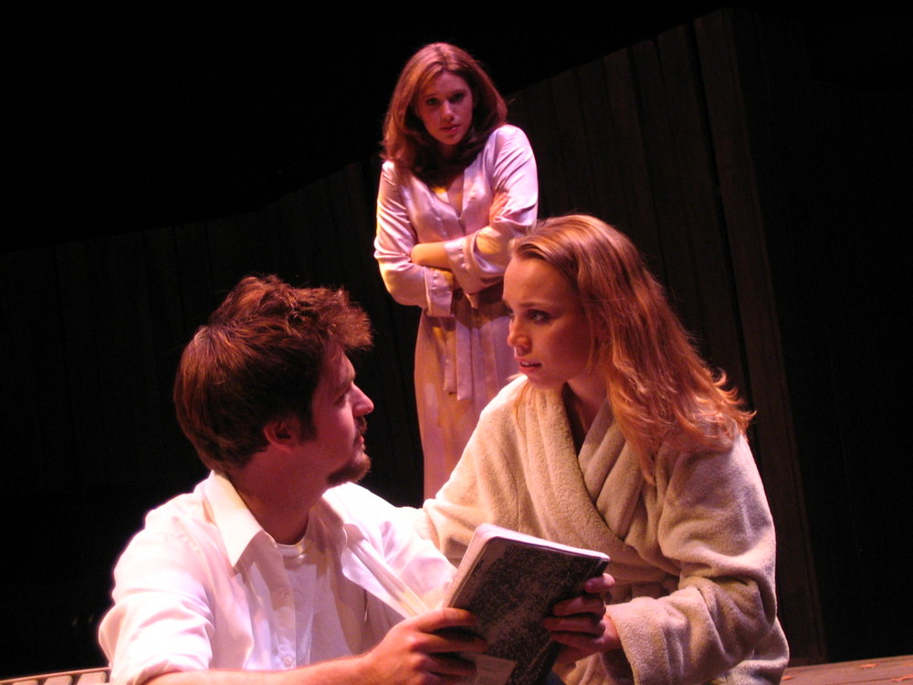 Proof , 2005 at Christopher Newport University. Pictured with Danny Devlin and Katie Parker.