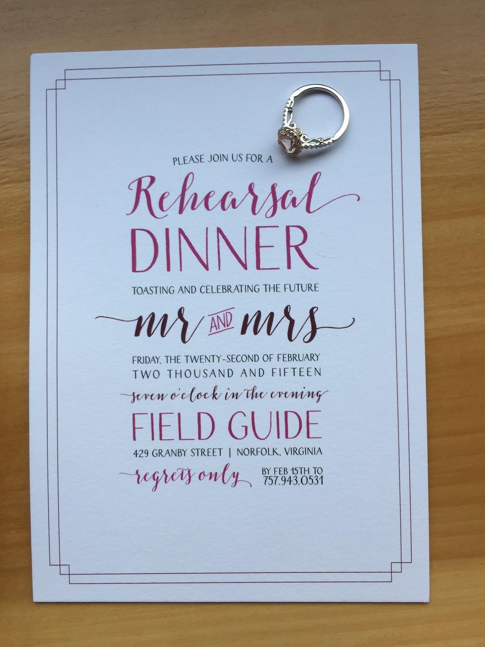 Invitation by jess creates {graphic design}