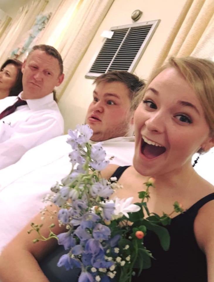 ashley stevens | chris reed | she caught the bouquet