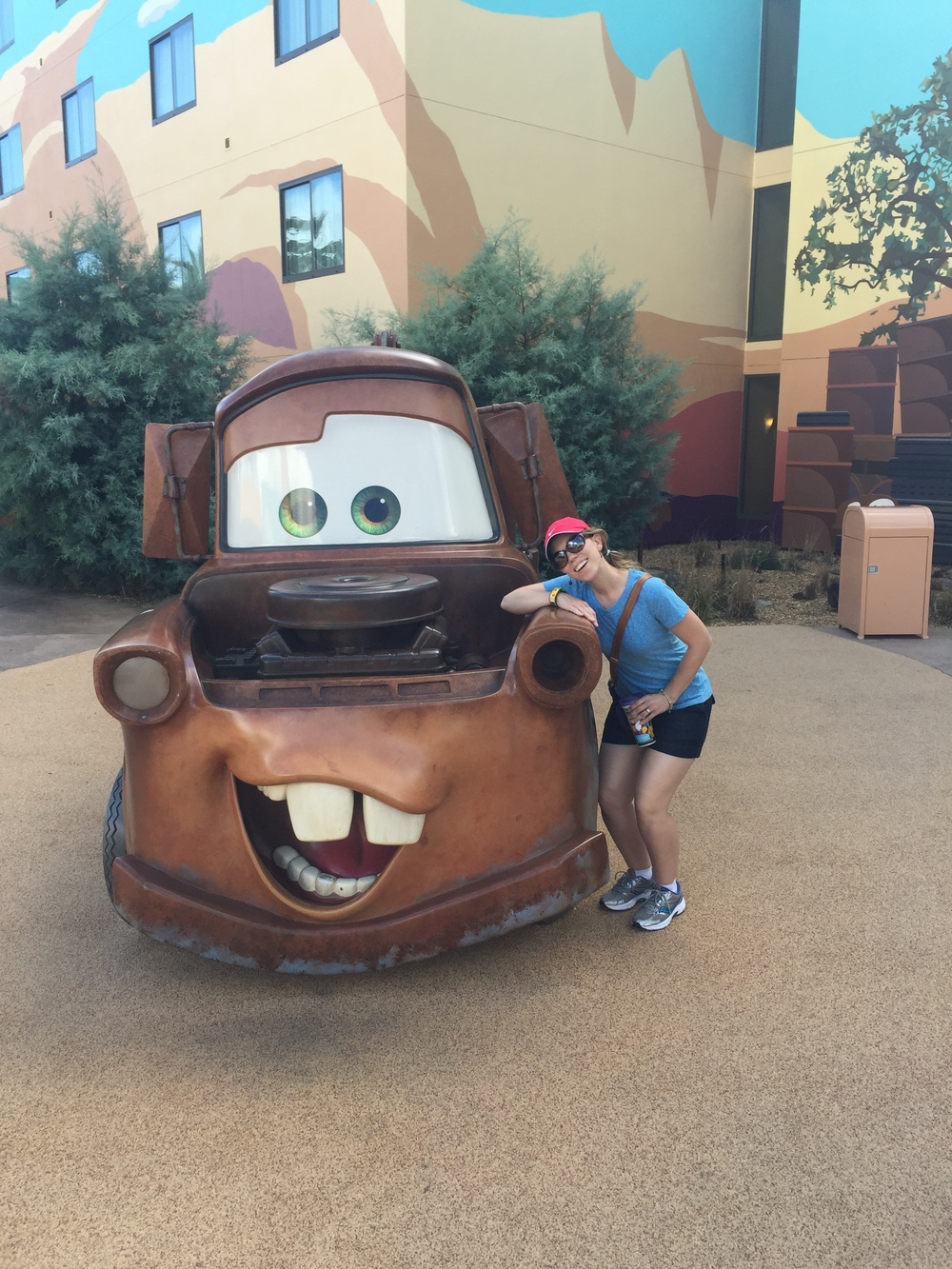 Lookin' good, Tow Mater