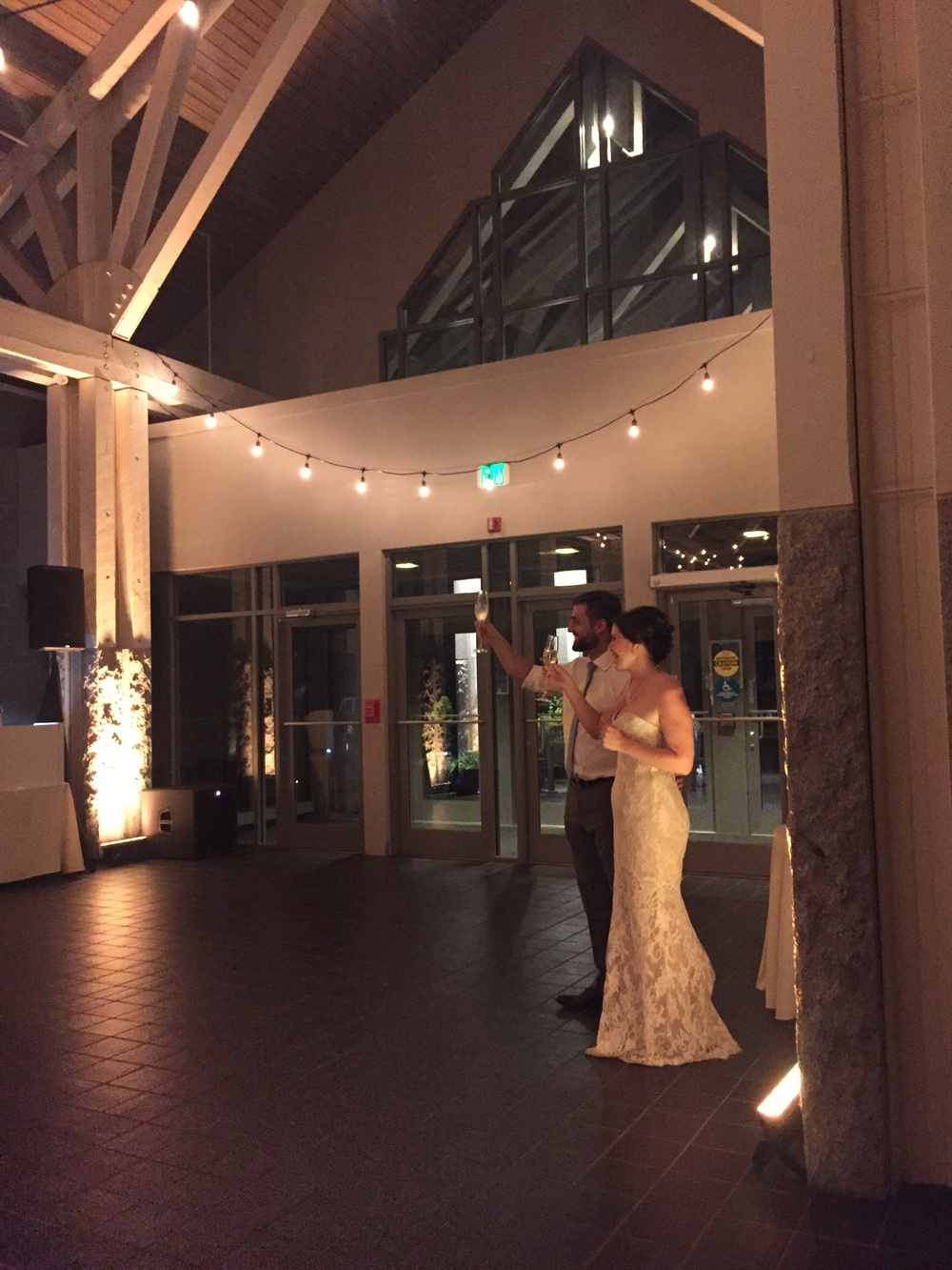 I'm certain this intimate reception will stay fresh in my mind for years to come. Kim and Matt are so loved by their guests. Because most everyone was from out of town, a good number of people were there til the end. In fact, the dance floor stayed full until the last song.