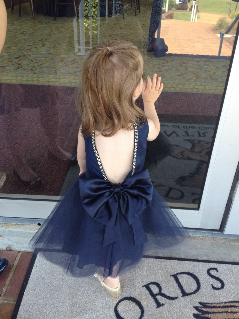 SUCH a cute flower girl dress!!