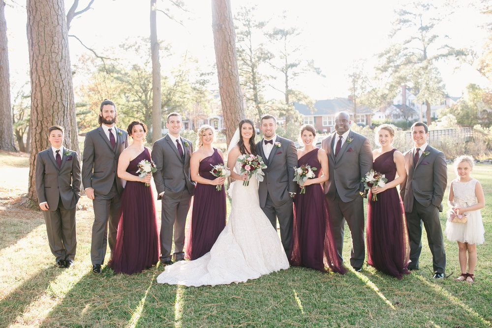 Almost the entire bridal party is made up of CrossFit Krypton fam. Seriously, most fit bridal party ever!