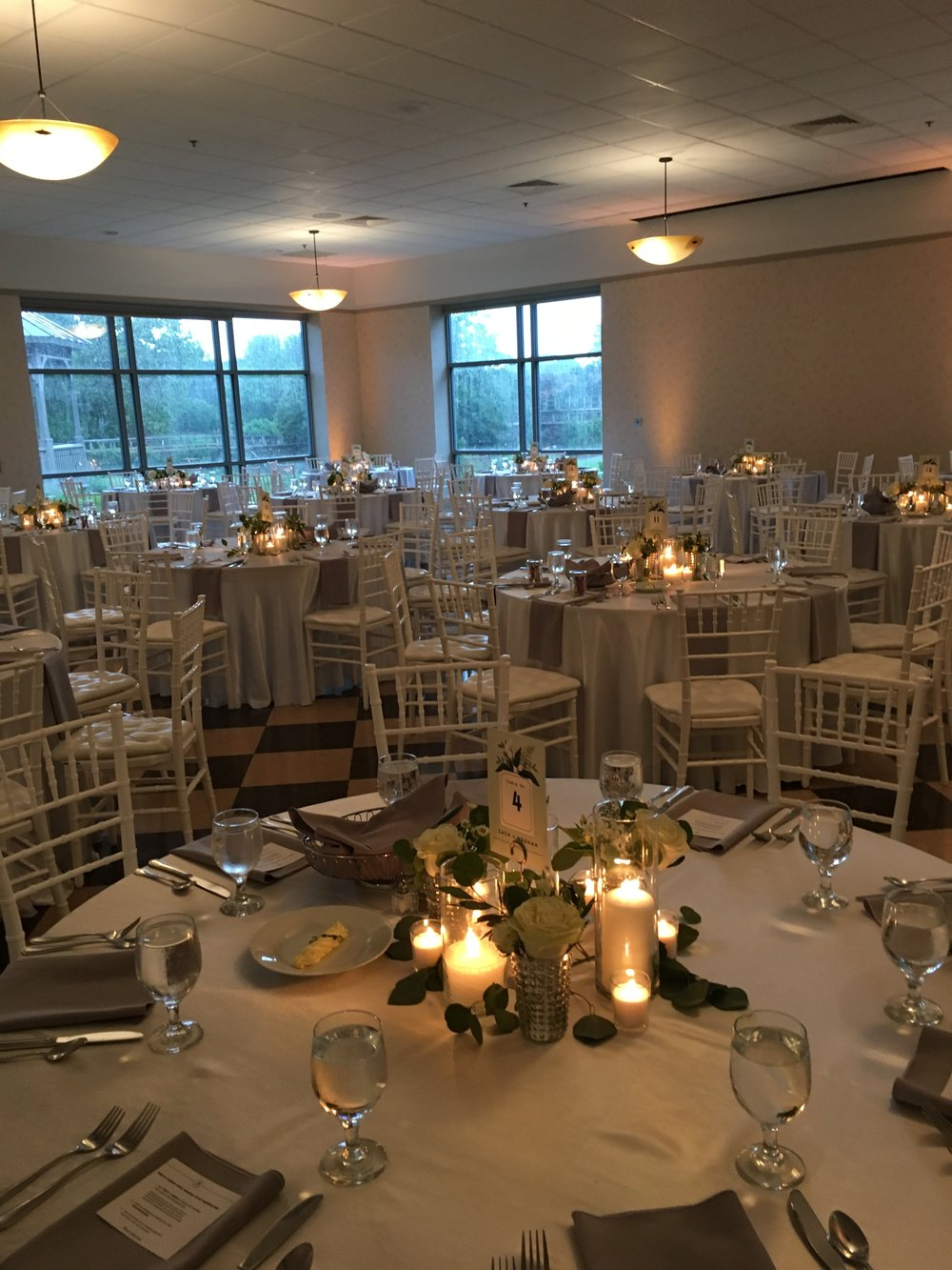 Stage Right Lighting and Chef by Design turned this bare room into a wonderland!