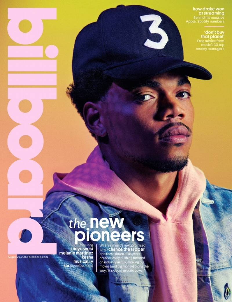 chance the rapper billboard cover