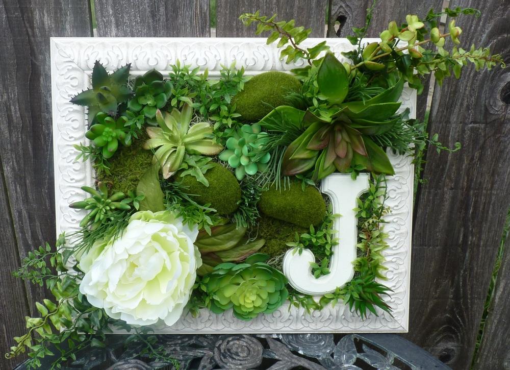 Large Succulent Frame
