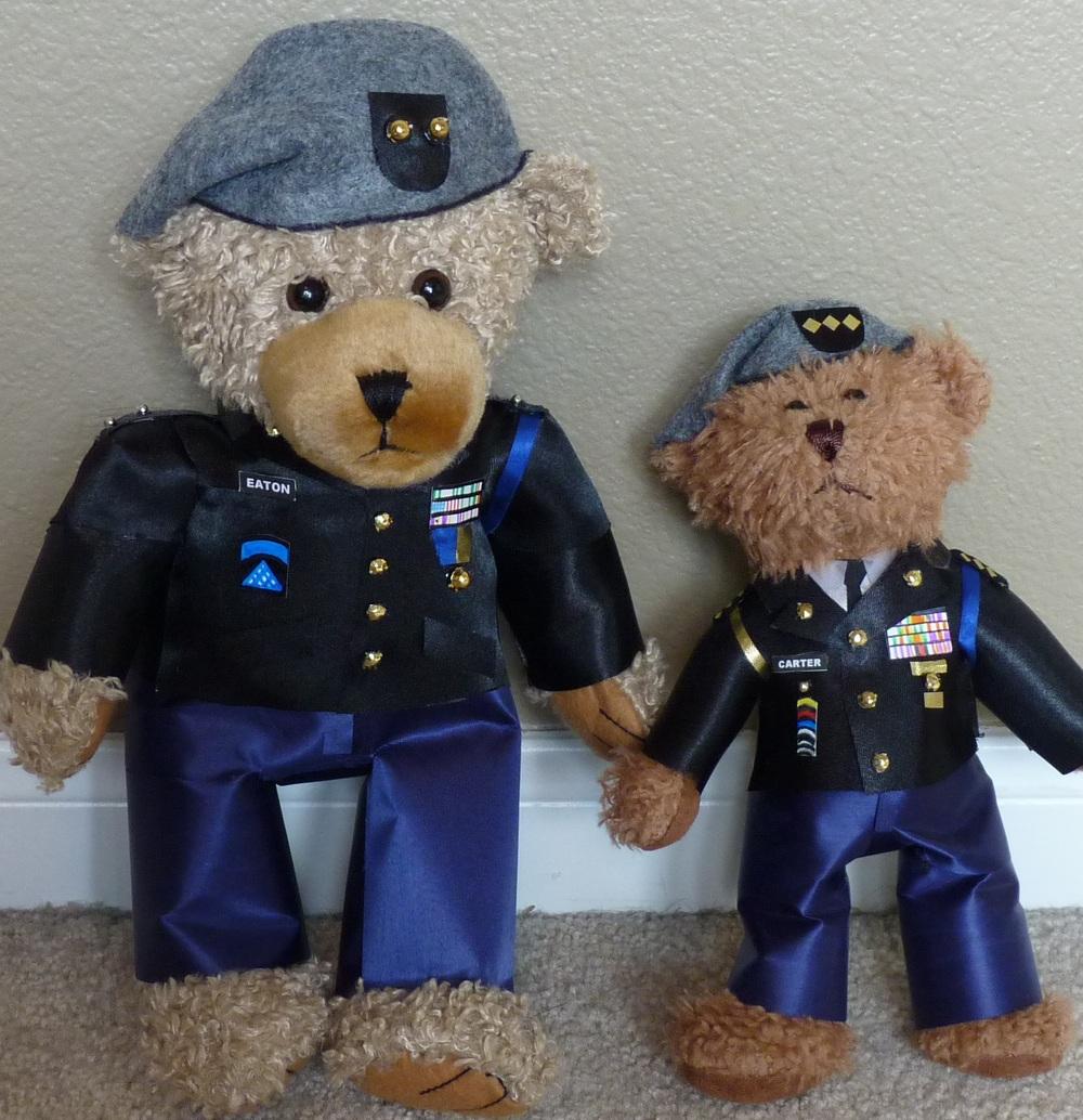 Custom JROTC Bears