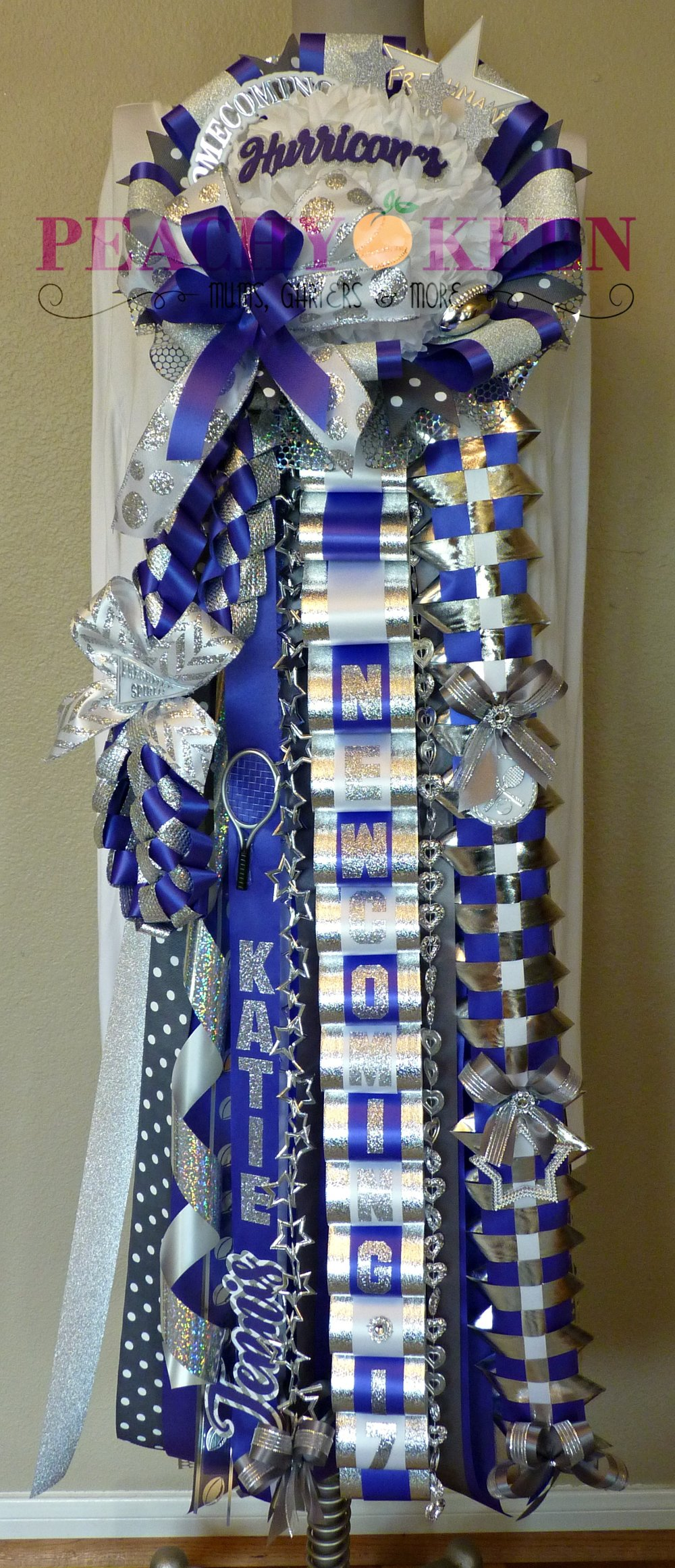 Starter Deluxe Homecoming Mum Klein Cain High School