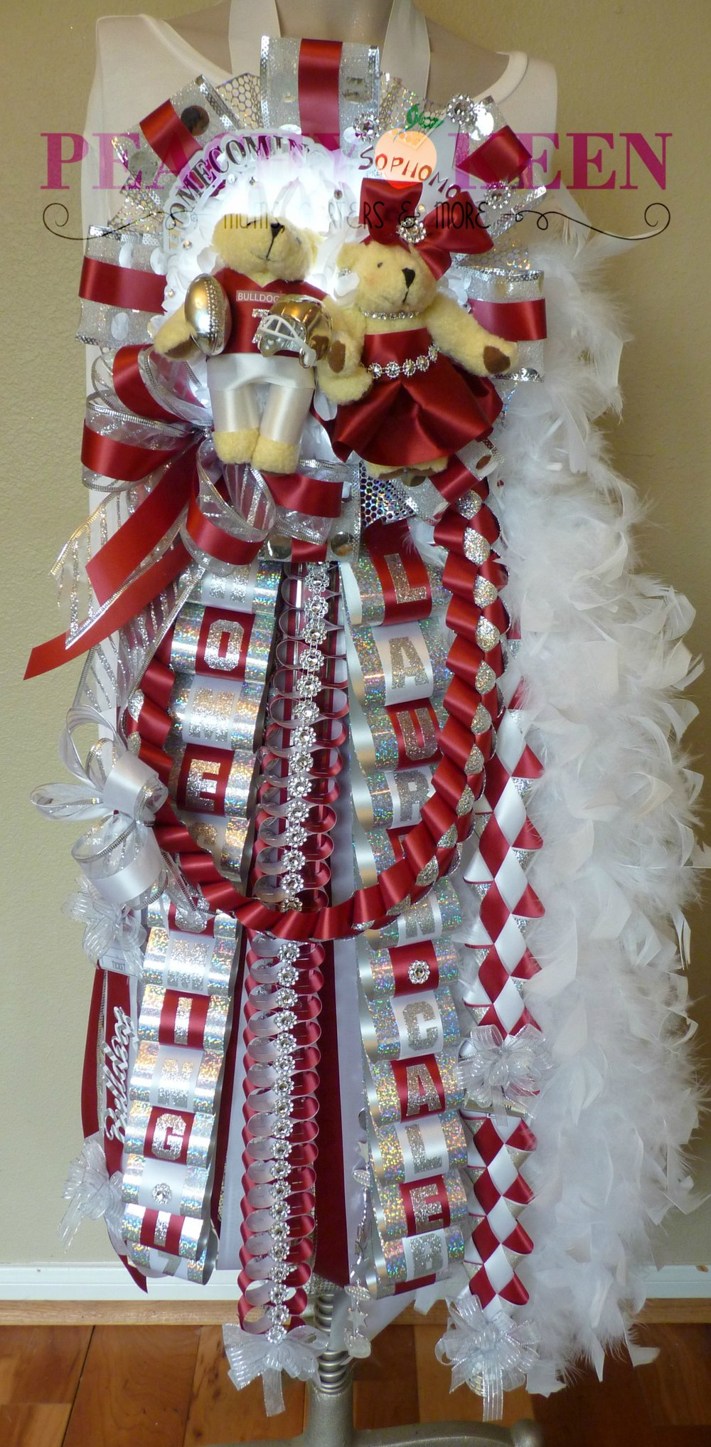 Single Deluxe Homecoming Mum Magnolia High School