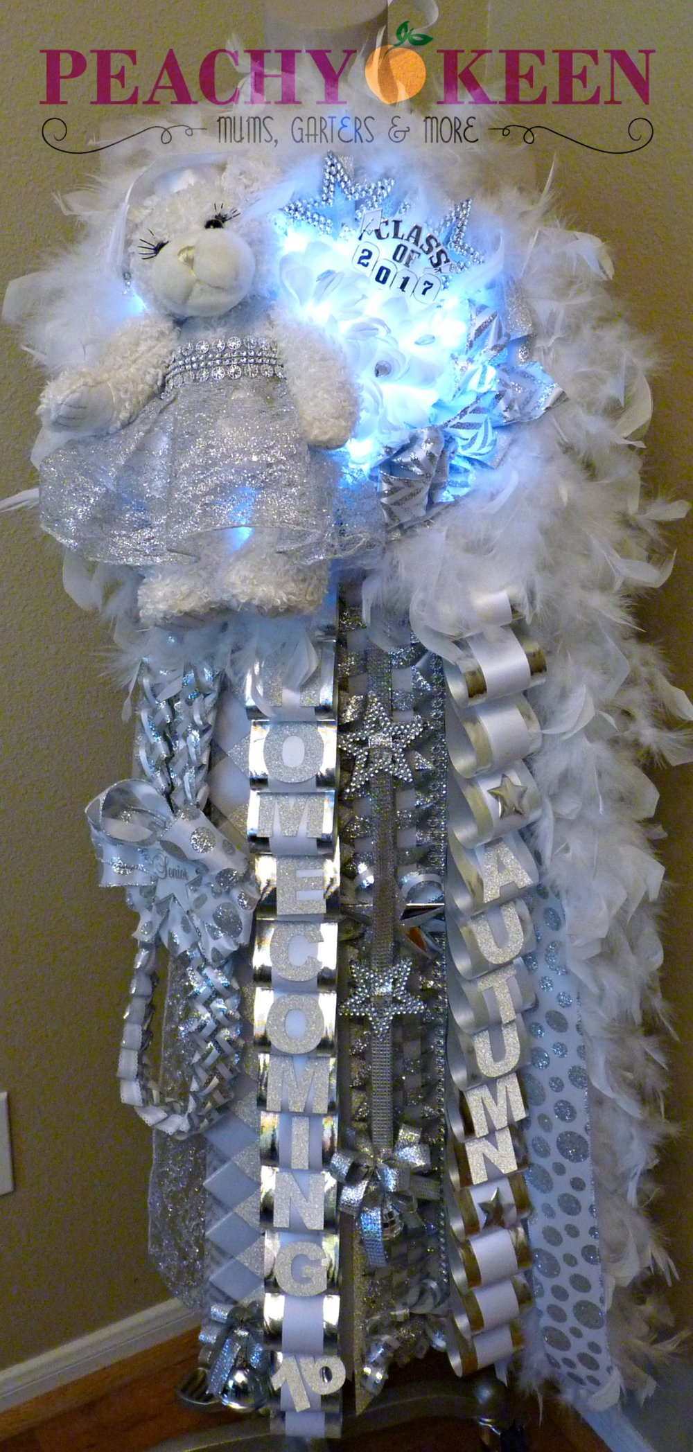 Single Deluxe Homecoming Mum South Grand Prairie High School