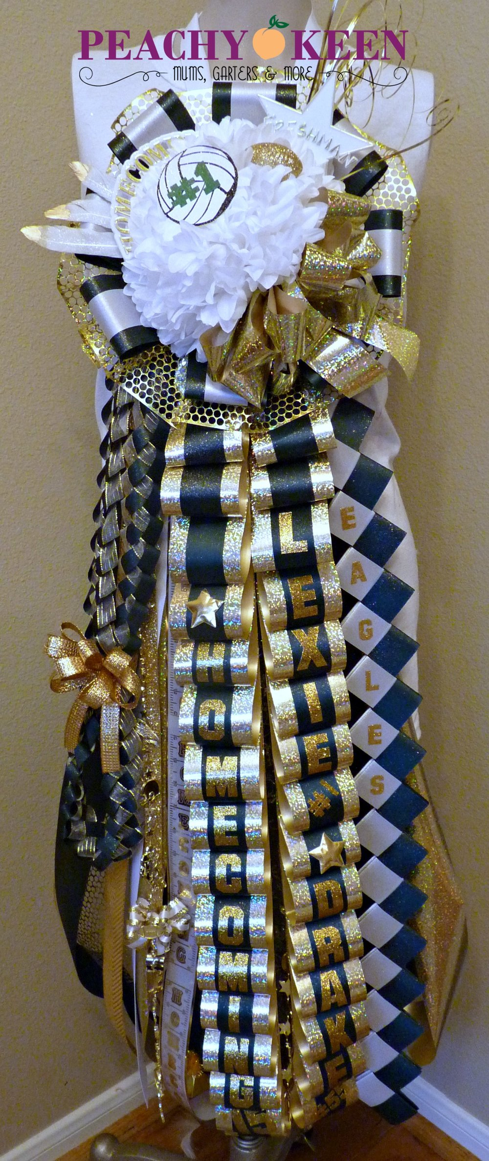 Starter Deluxe Homecoming Mum Cy Falls High School
