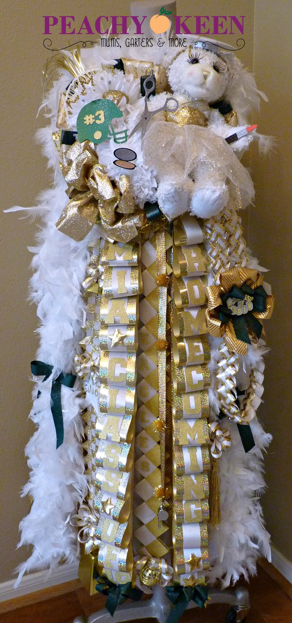 Triple Deluxe Homecoming Mum Klein Forest High School