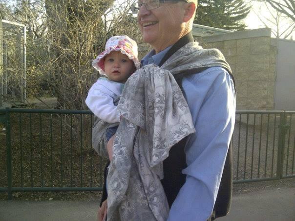 Grampa at the Zoo