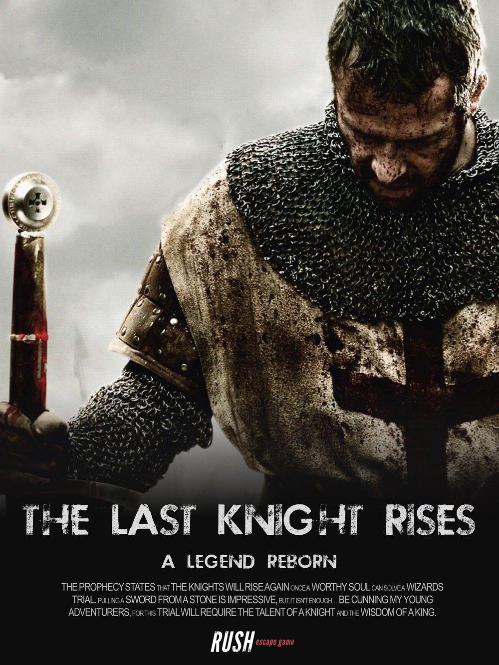 Rush Escape Game Escape Room Melbourne The Last Knight Rises.JPG