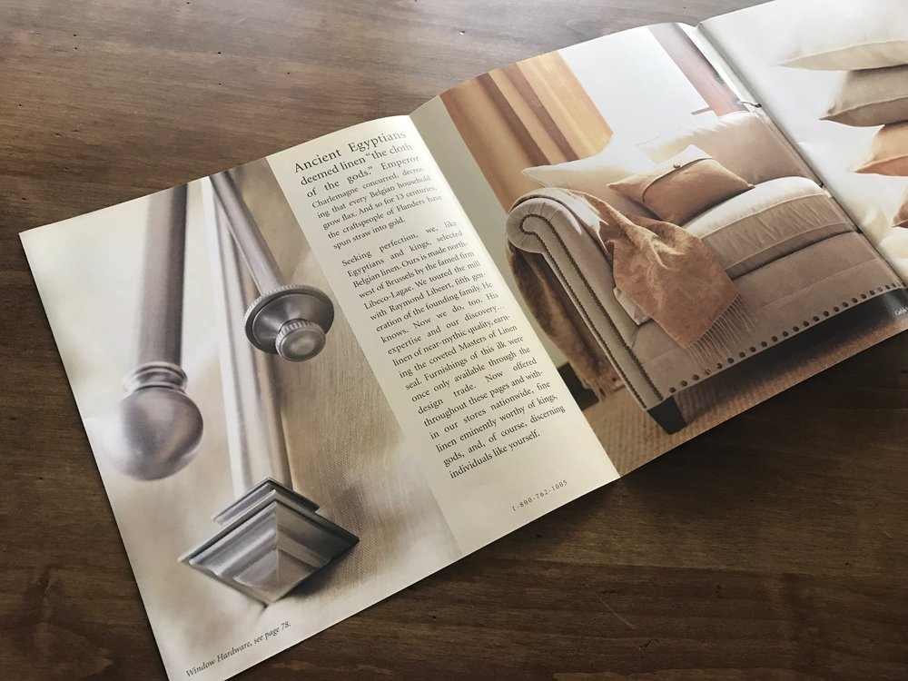 Restoration Hardware Catalog Redesign First Launched With New Look And Feel