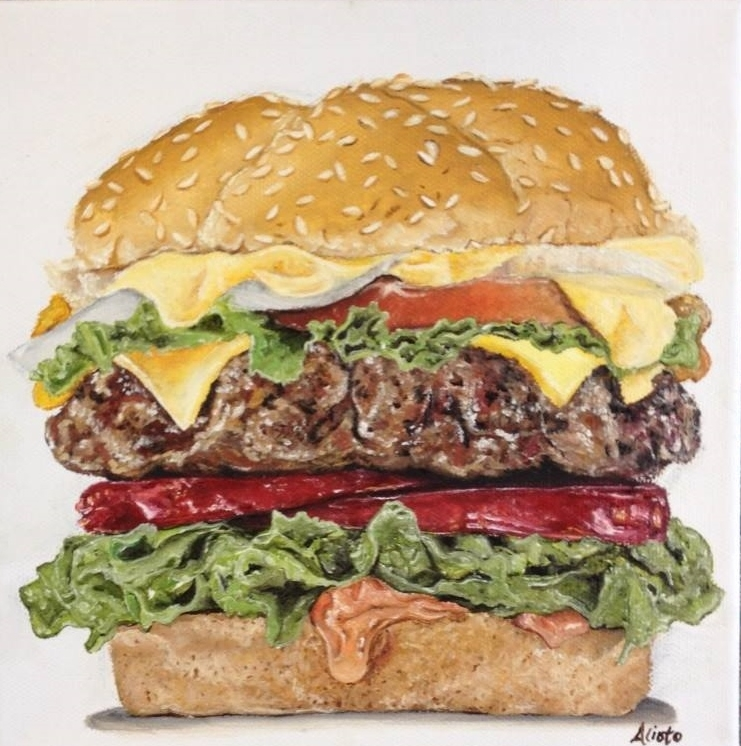 Cheeseburger Deluxe. 8x8. oil on canvas.jpg