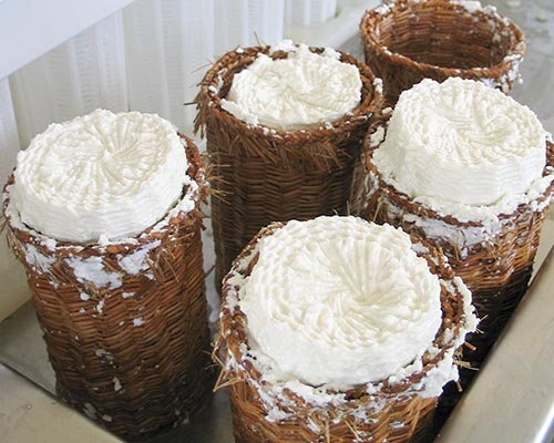 Ricotta in Baskets